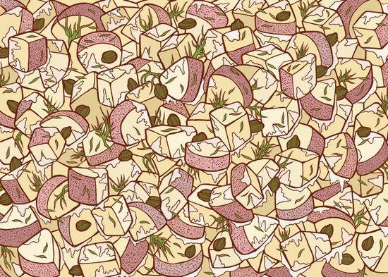 Potato Salad Art Print
