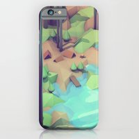 iPhone Cases featuring Campground by Timothy J. Reynolds