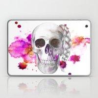 Braided Skull Laptop & iPad Skin