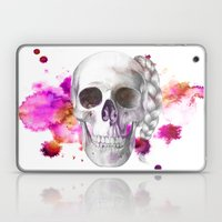 Braided Skull Laptop & iPad Skin