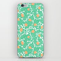Berries And Mint iPhone & iPod Skin
