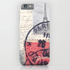 Postale Paris iPhone 6 Slim Case
