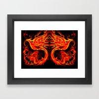 Phoenix Xis Framed Art Print