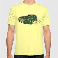 New Car ?? Mens Fitted Tee Lemon SMALL