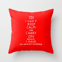 I Broke An Promise To My… Throw Pillow