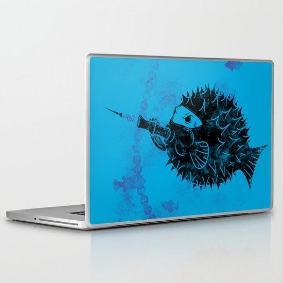 Blowgun Fish Laptop & iPad Skin