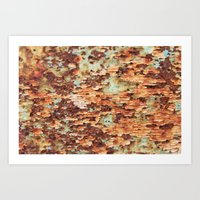 Colorful Grunge Abstract… Art Print