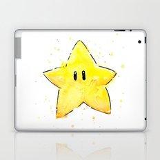 Invincibility Star Mario Art Laptop & iPad Skin