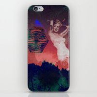 False Colored Eyes iPhone & iPod Skin