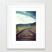 Travel Alone Framed Art Print
