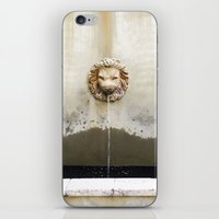 Three Lions Fountain iPhone & iPod Skin