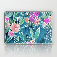PARADISE FLORAL - NAVY Laptop & iPad Skin