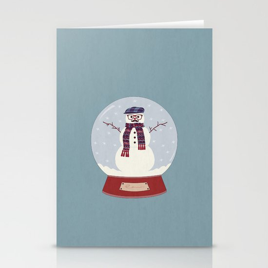 Let it snow, man! Stationery Card