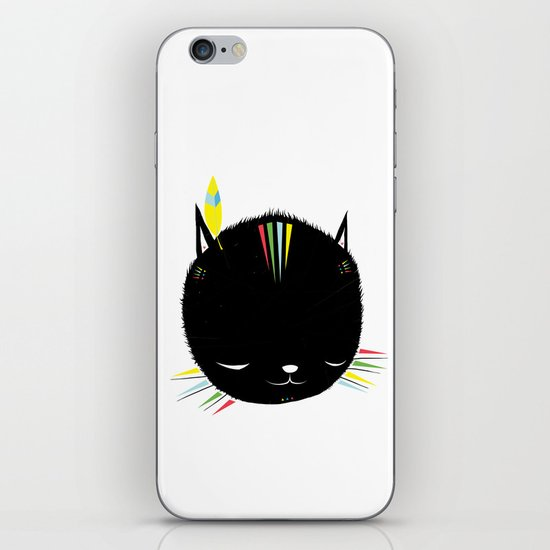 MIGHTY TIGARRR, BLACK KITTEN 묘 iPhone & iPod Skin