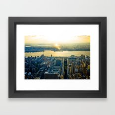 Top of the Empire #11 Framed Art Print