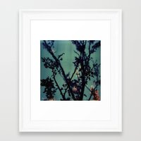 Polaroid Spring Framed Art Print