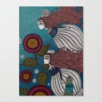 The Little Mermaid (2) Canvas Print