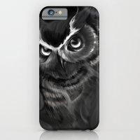 Owl Aflame iPhone 6 Slim Case