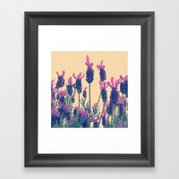 FLOWER 028 Framed Art Print