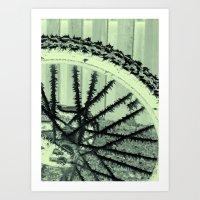 Winter Spoke Its Intenti… Art Print