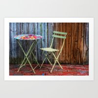Table For One Art Print