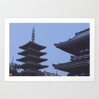 Asakusa Art Print