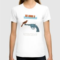 To Kill A Mocking Bird Womens Fitted Tee White SMALL