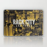 Black Yellow Cool Rack City Las Vegas Photography Laptop & iPad Skin