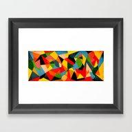 Entrelinhas - Tropical Framed Art Print