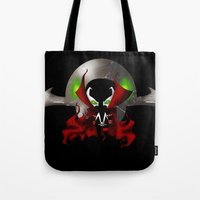Chibi Spawn Tote Bag