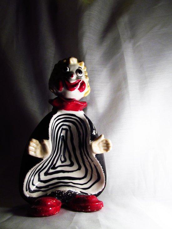 Death Spiral Ashtray Clown Art Print