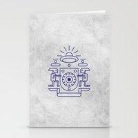 UFO Watchers Stationery Cards