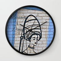 Under the Dryer  Wall Clock