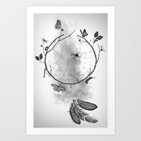 Dream. Art Print