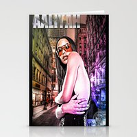 Street Phenomenon Aaliyah Stationery Cards