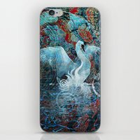 The Song Of Swans iPhone & iPod Skin