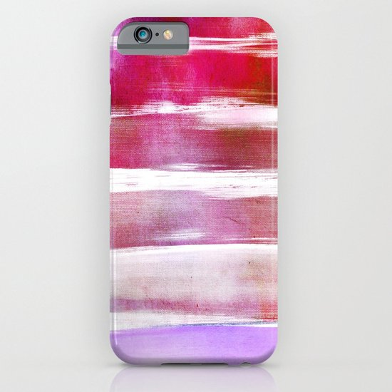 waves - pink iPhone & iPod Case