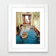 Is There A Prize At The … Framed Art Print