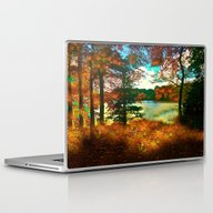 Trees And Shadows In New… Laptop & iPad Skin