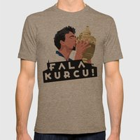 Goran Ivanisevic - Wimbledon trophy kiss Mens Fitted Tee Tri-Coffee SMALL