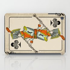 musical poker / Baroque oboe iPad Case