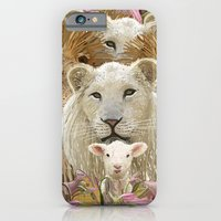 Lions led by a lamb iPhone 6 Slim Case