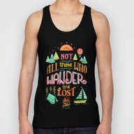 Not All Those Who Wander… Unisex Tank Top