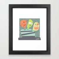 3 Heads Are Better Than … Framed Art Print