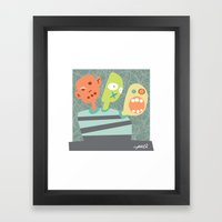 3 Heads are Better than One Framed Art Print