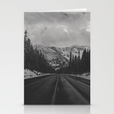 December Road Trip In Th… Stationery Cards