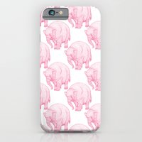 iPhone & iPod Case featuring Pink Elephant by Andrew Henry