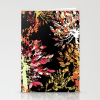 Collage pattern II Stationery Cards