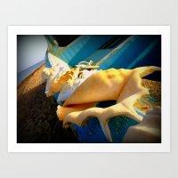 Sole E Azzurro Art Print