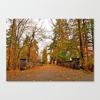 Wapato Park bridge Canvas Print